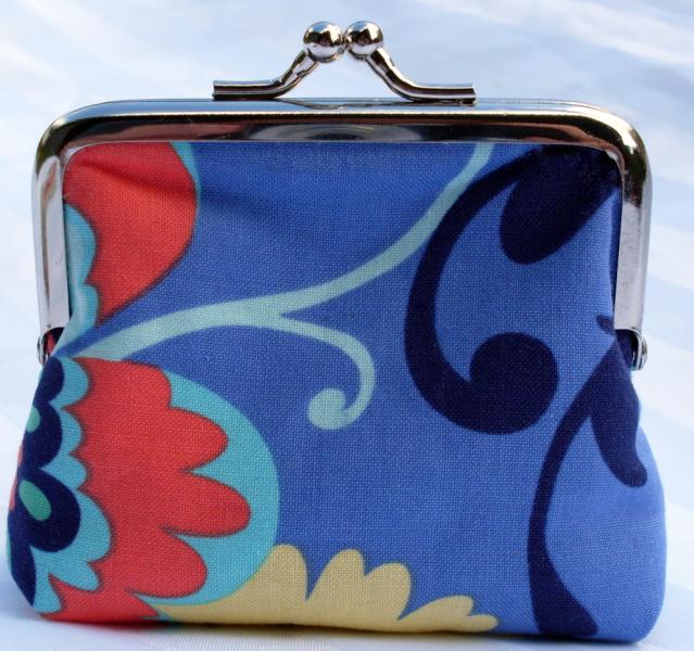 Rainbow Garden coin purse