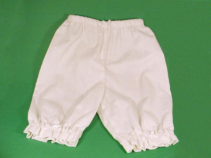 White Lacy Bloomers  Size 2/3