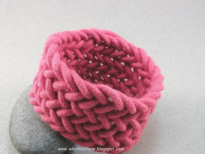 red herringbone weave rope bracelet sailor bracelet nautical bracelet custom fit