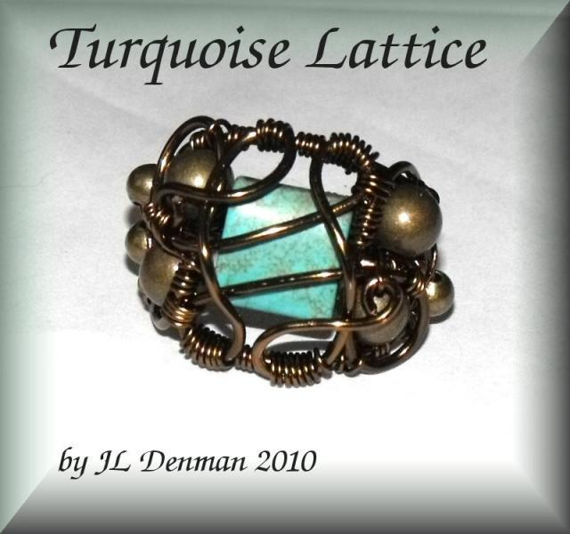 Ornate Lattice Ring Treasury Windows Series tutorial