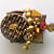 Golden Puzzle Pin