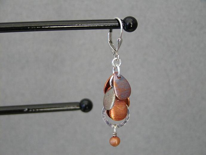Handmade Oxidized Copper earrings