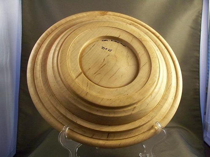 Birdseye Maple Platter