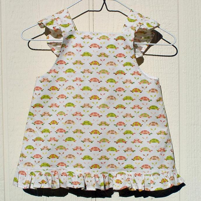 Turtles on the Move Sundress Size 12 Months