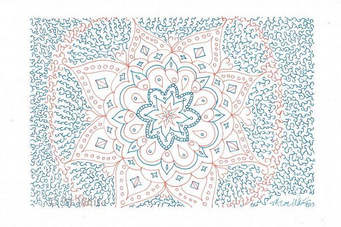 Reiki Mandala Print