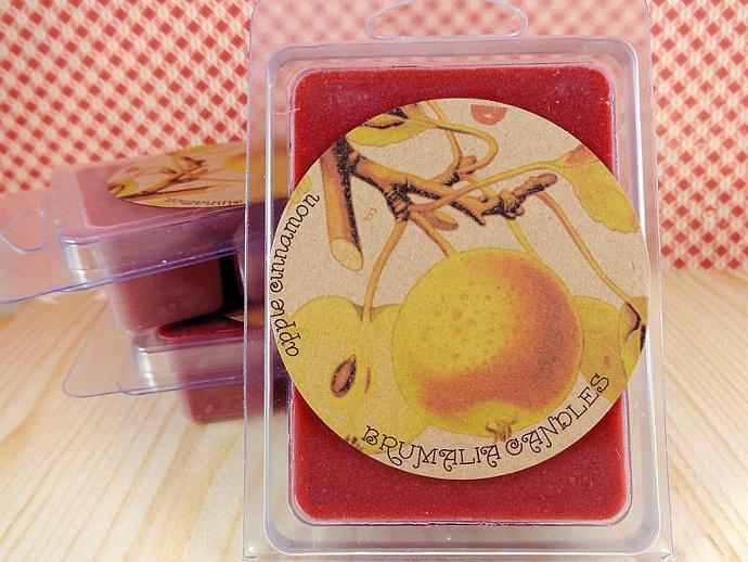 Apple Cinnamon Soy Wax Melt, Soy Wax Tart For Wax Warmers