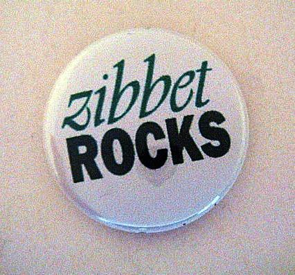 Zibbet Rocks! Pin