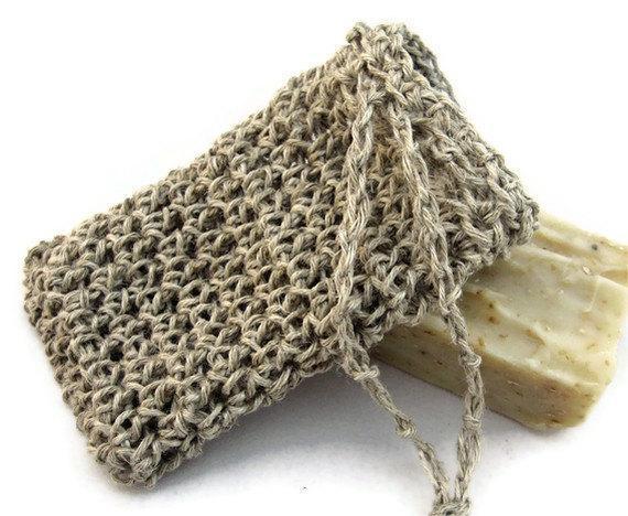 All Natural Hemp Fiber Soap Saver Bag