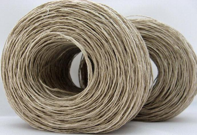 Hemp Yarn for Knitting, Fair Trade, Vegan, Fingering Weight