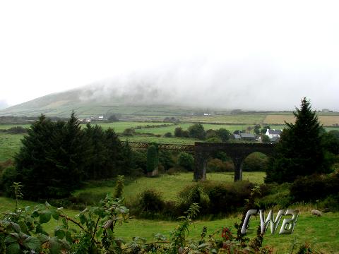 Mist on the Irish Mountains fine art print