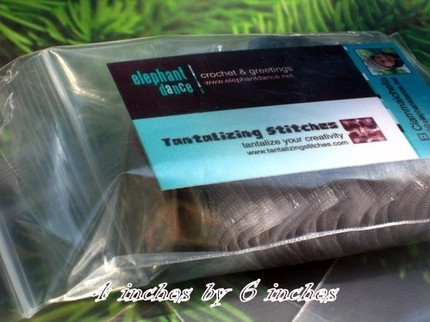 4x6 - 40 CLEAR RECLOSEABLE POLY BAGS