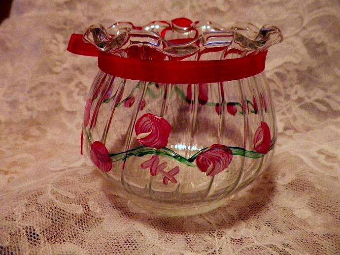 Rose Buds Tea Light Holder