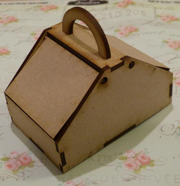 Wood pinic basket