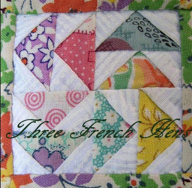 Peace Sampler Table Topper and Wall Hanging Miniature Quilt