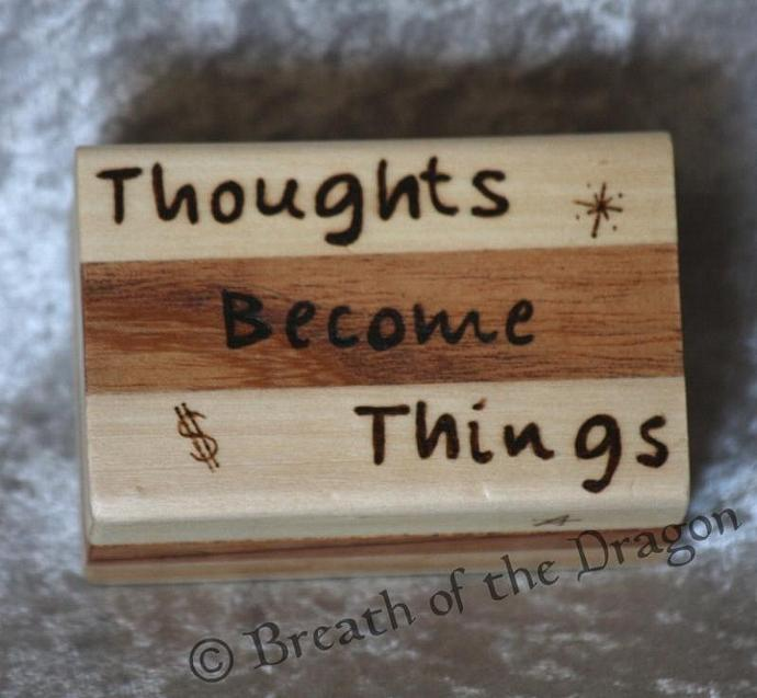Thoughts Become Things box