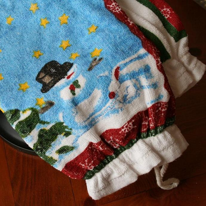 Winter Grocery Sack Stuffer