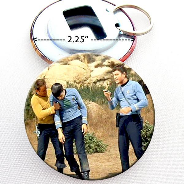 Star Trek TOS Bottle Opener Button