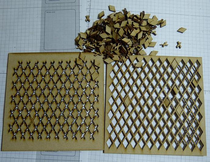 Wood diamond set-1