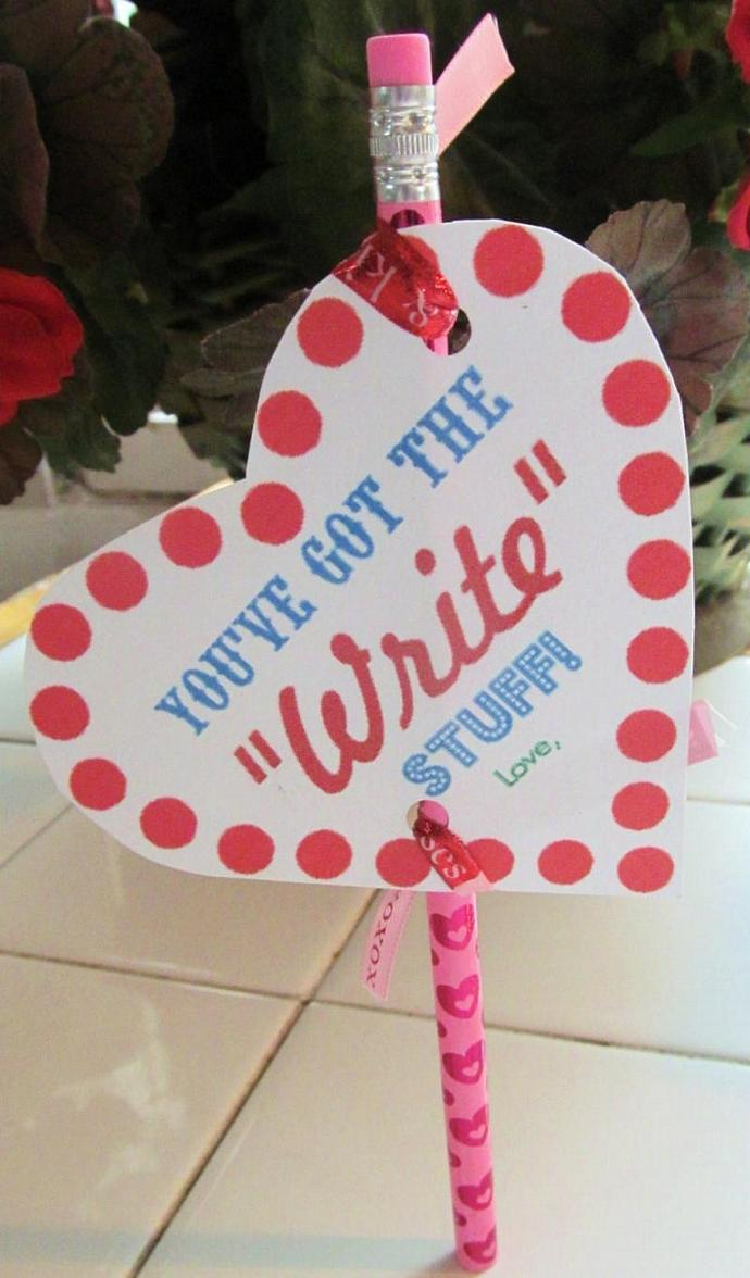 "You've Got The ""Write"" Stuff Party Favors"