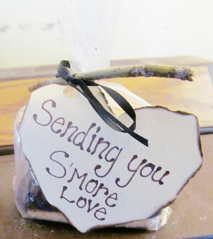 S'mores Party Favors (Made To Order) Custom order - Wedding, Birthday, Summer,