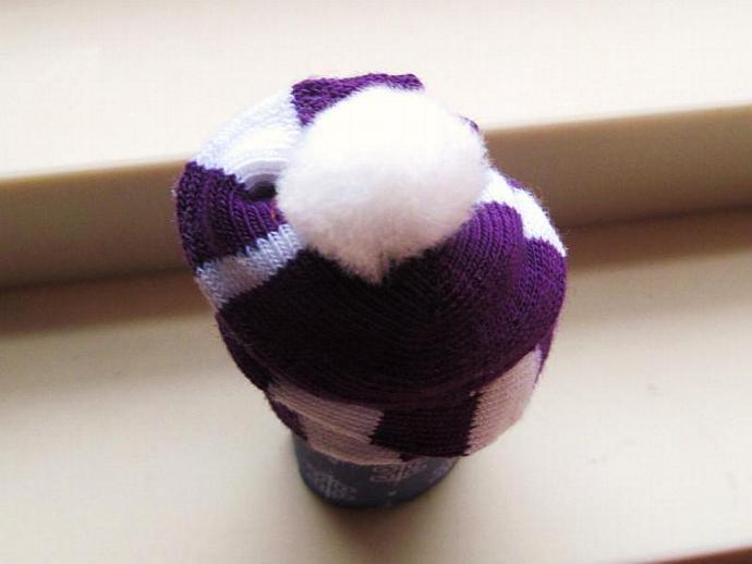 Children's Sock Cupcake