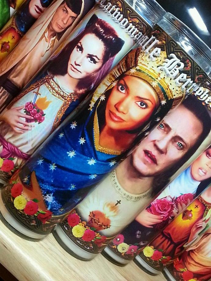 """8""""  Celebrity Tribute Candle - Sexy Halle Berry  - Heavenly geekery"""