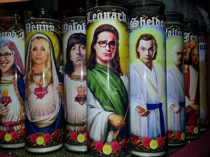 "8""  Celebrity Tribute Candle - Steve Buscemi Fargo Boardwalk  - Heavenly geekery"