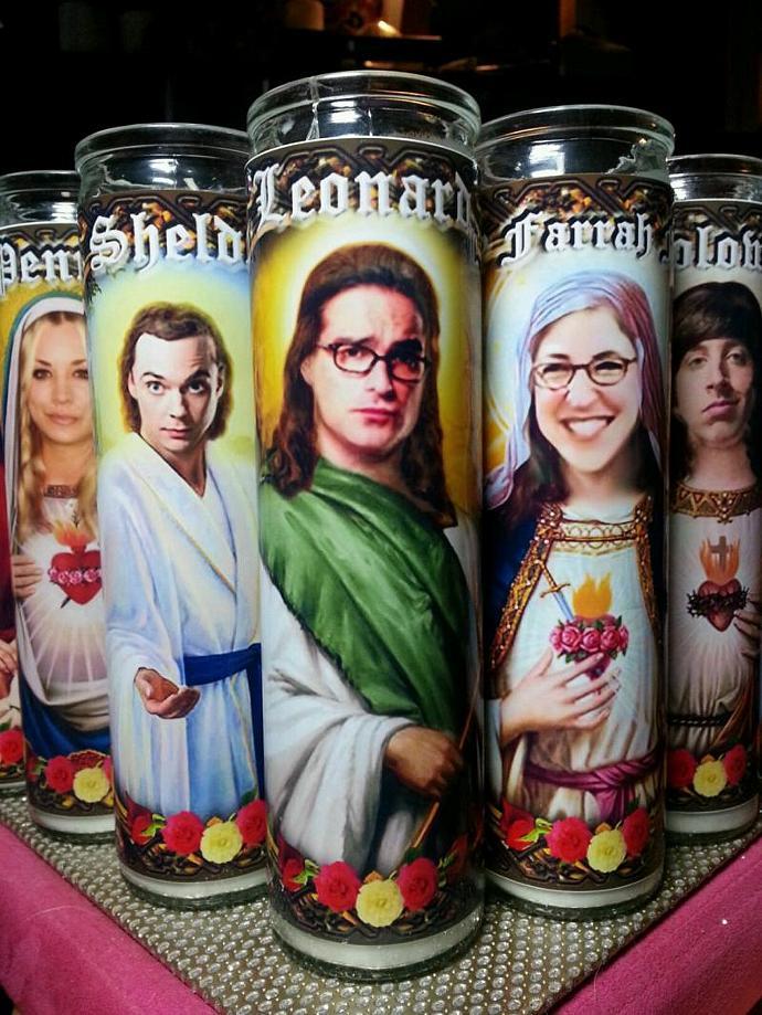 "8"" TV Celebrity Tribute Candle - Star Trek - Sulu George Takei  - Heavenly"