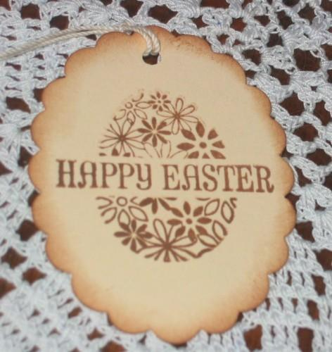 Happy Easter Egg Hang Tags