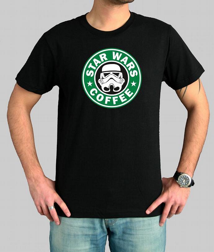 Star Wars Storm troopers Coffee parody cool by slaveihristov on Zibbet