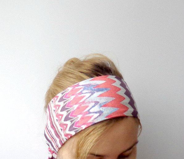 ethnic head scarf boho headband head wrap summer jersey headwrap hair band