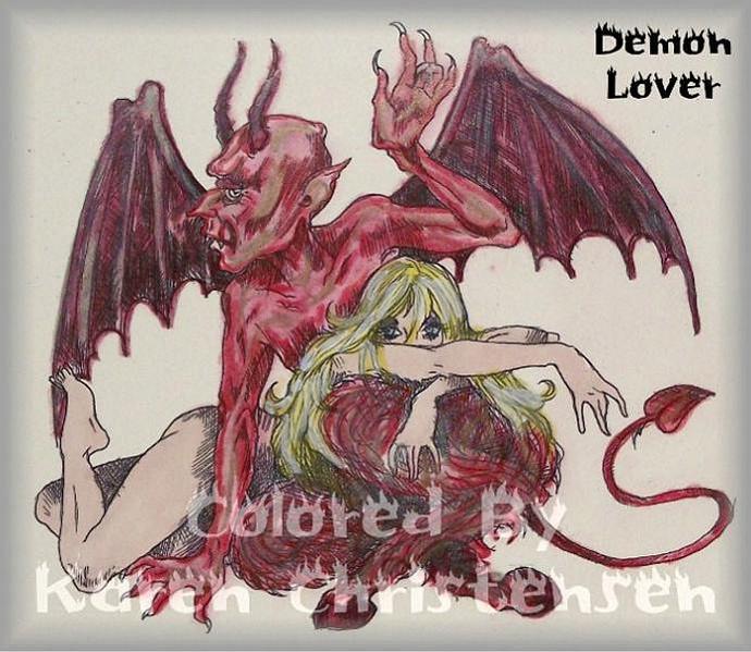 Demon Lover digi stamp