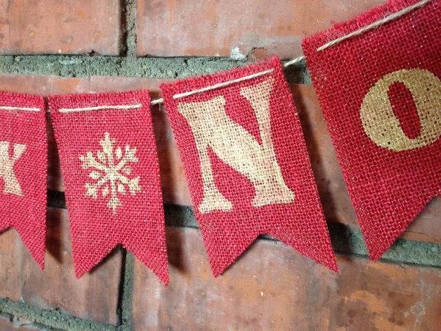 Joyeux Noel Banner / Garland