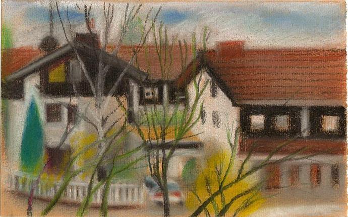 "Original work ""Bavarian small houses""  2013"