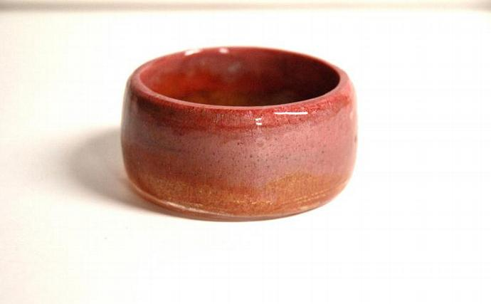 resin bangle Rosie coral chunky resin bangle bracelet Handmade resin bangle