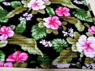 Hawaiian Floral Oversized Hot Pad