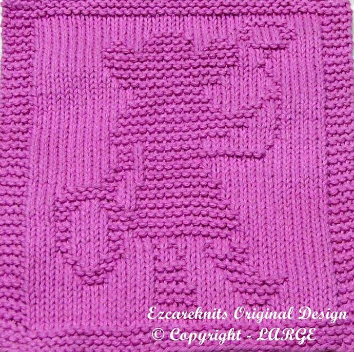 COWGIRL - Cloth Knitting Pattern