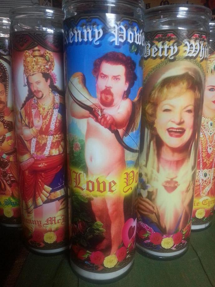 "8""  Celebrity Tribute Candle - Betty White - Golden Girls - Hot in Cleveland -"