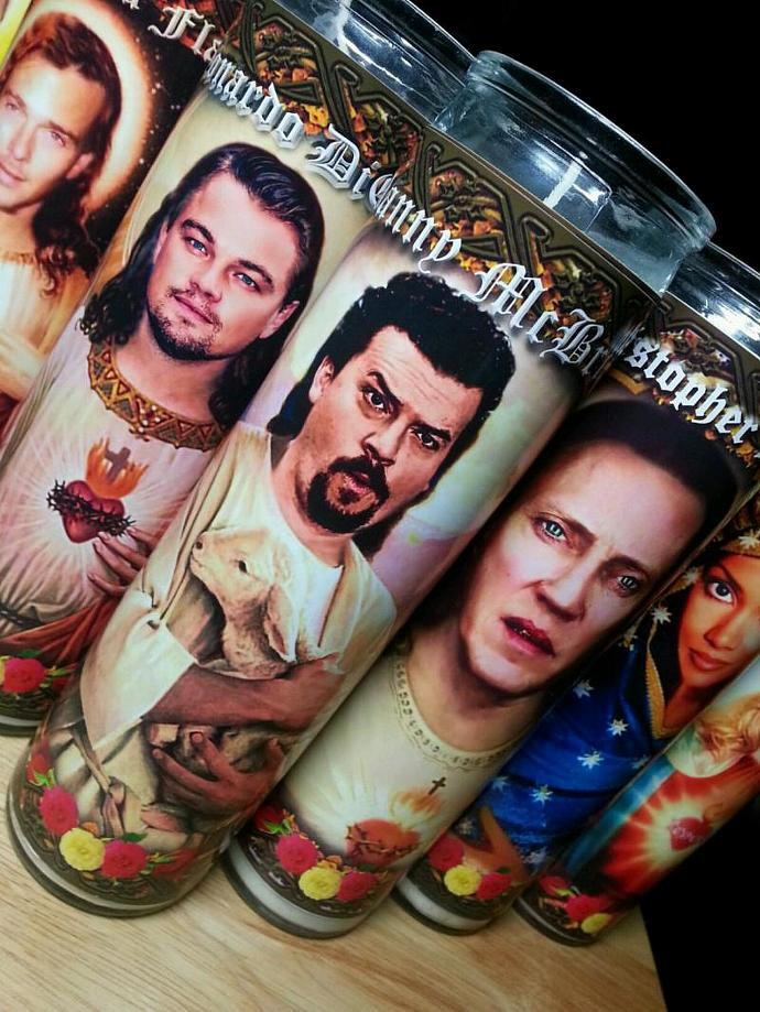 "8""  Celebrity Tribute Candle - Danny McBride - Heavenly geekery"