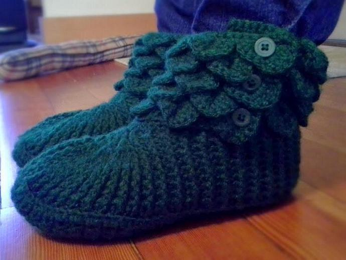 Crocodile Stitch Boots - Customize them!