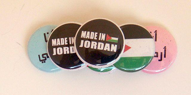 *Proud Jordanian* Six 1 inch Button Pins