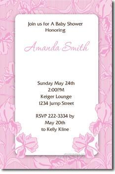 Print Yourself Baby Shower Invitations ANY COLOR (download jpg immediately)
