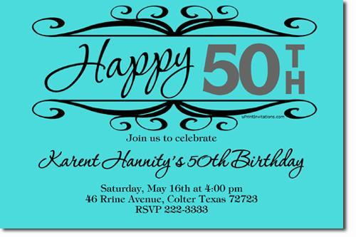 Print Your Own Birthday Invitations ANY COLOR (download jpg immediately)