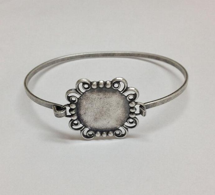 Bangle Bracelet Blanks Bangle Bracelet Blank Silver