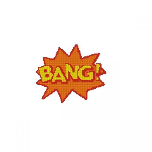 ALL STITCHES - BANG CROSS STITCH PATTERN .PDF -1003