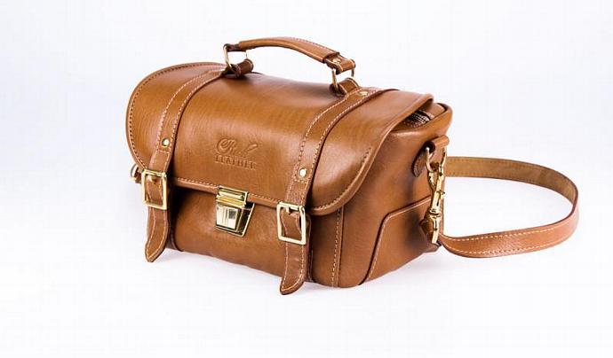Ladies Leather Messenger Bag - Leather Shoulder Bag - Made in Australia