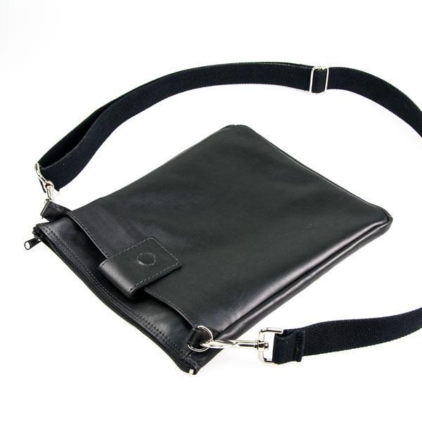 Leather Tablet Bag - Unisex Cow Hide Shoulder Bag - Made in Australia