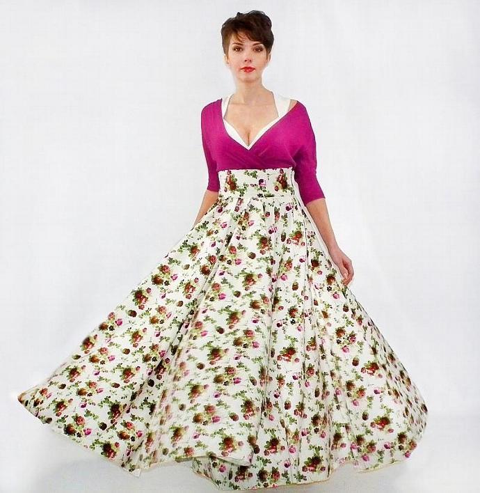 Maxi Skirt , Long Skirt, Floor length skirt, | FatBerry