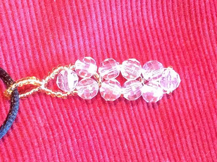 CLEAR  ROUND BEADS        450 - 010