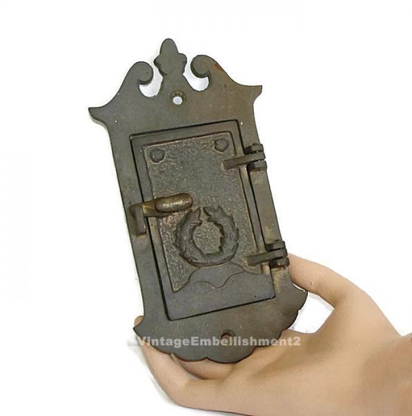 Antique door peepholes vintage door accessory door peephole door spy eye door peep hole antique - Antique peephole ...